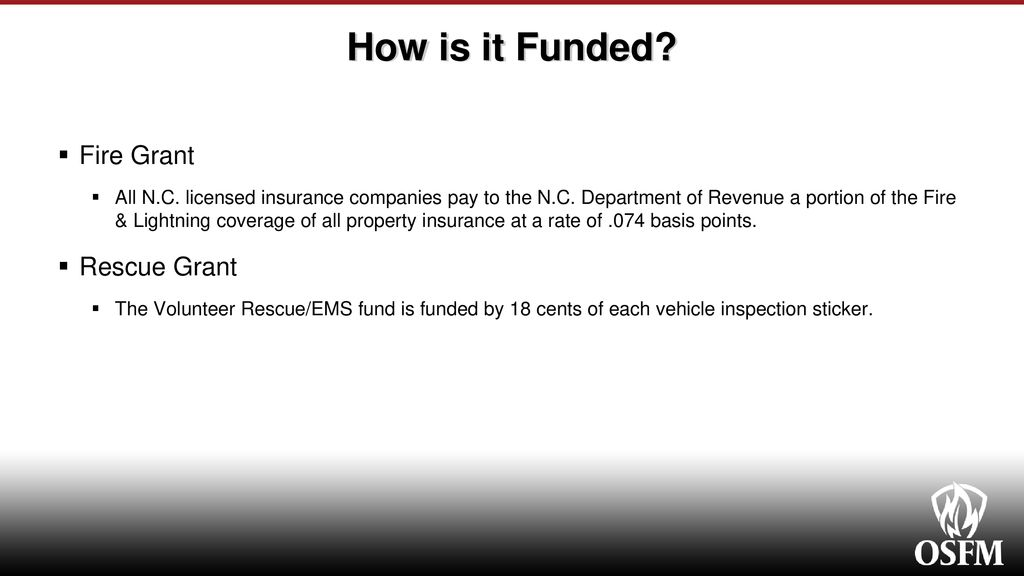 Fire and Rescue Grant Programs - ppt download