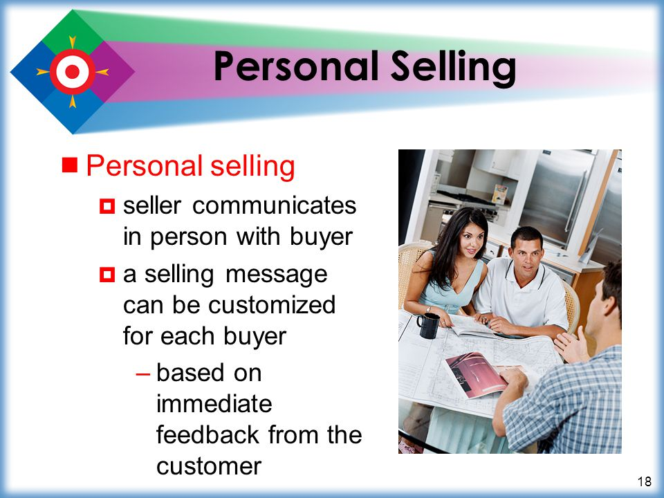 Personal Selling Personal selling