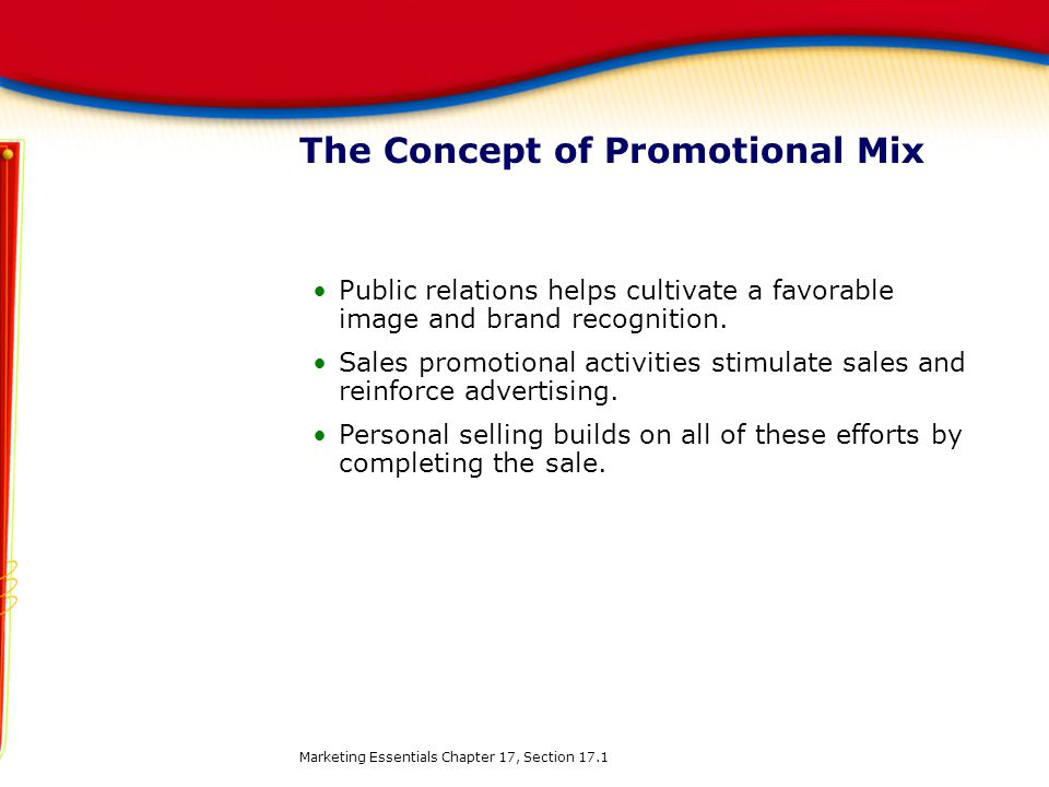 The Concept of Promotional Mix