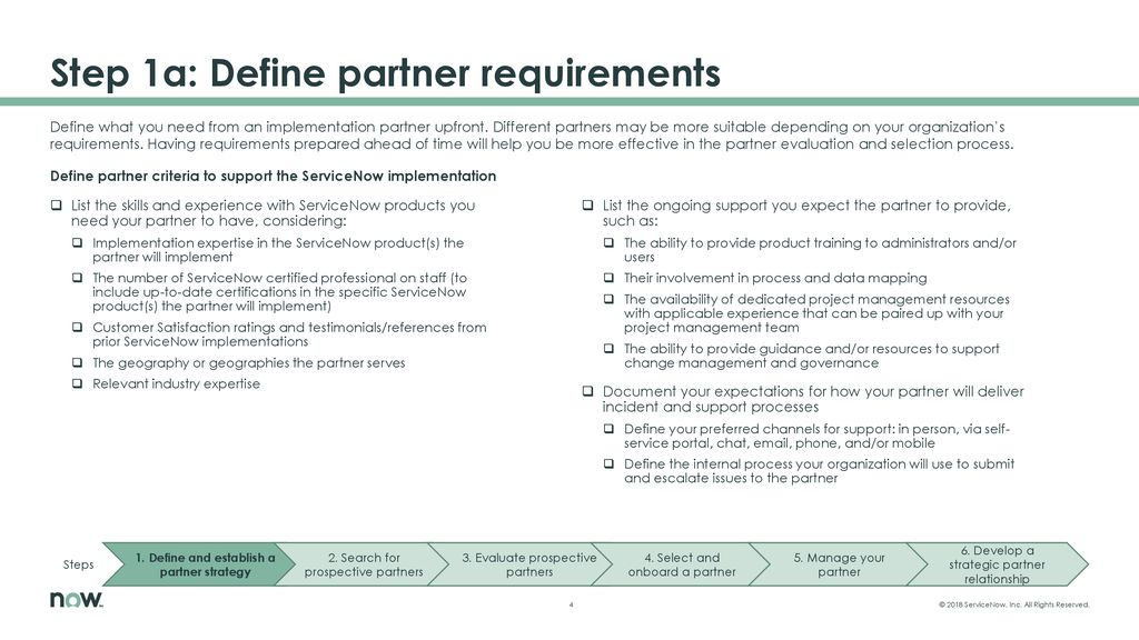 6: Find, manage, and coordinate capable, certified partners