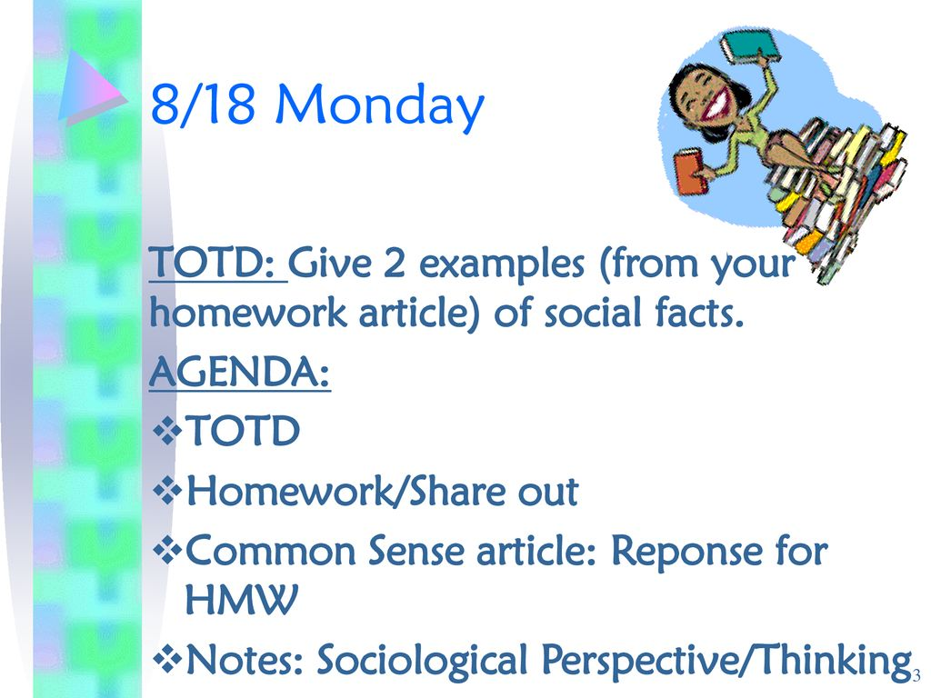 sociology and common sense examples