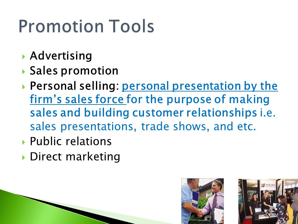 Promotion Tools Advertising Sales promotion