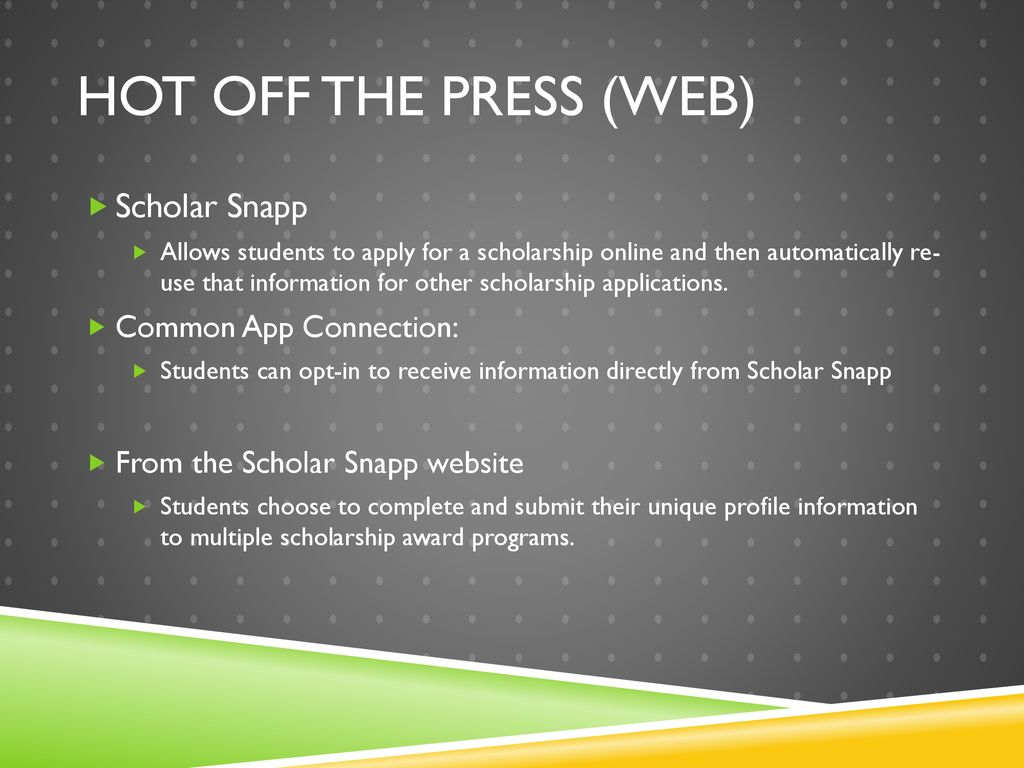 Guide To The Common Application Ppt Download
