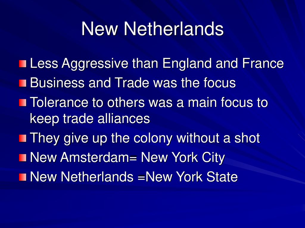 New France vs English Colonies - ppt download