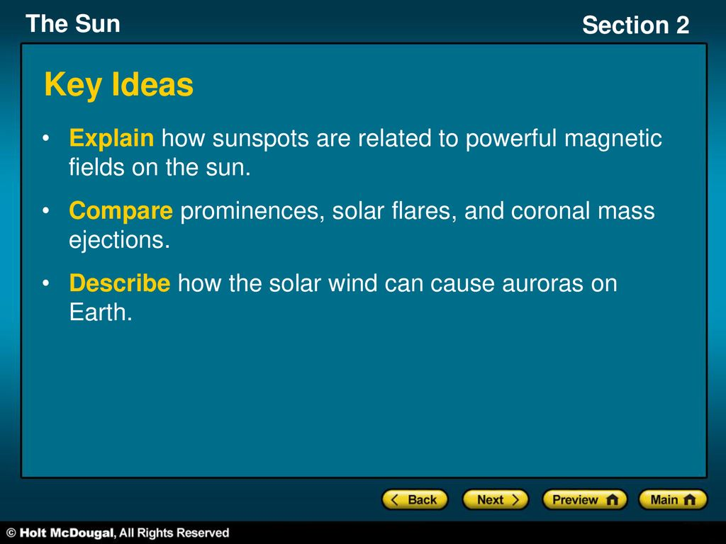 Section 2: Solar Activity - ppt download