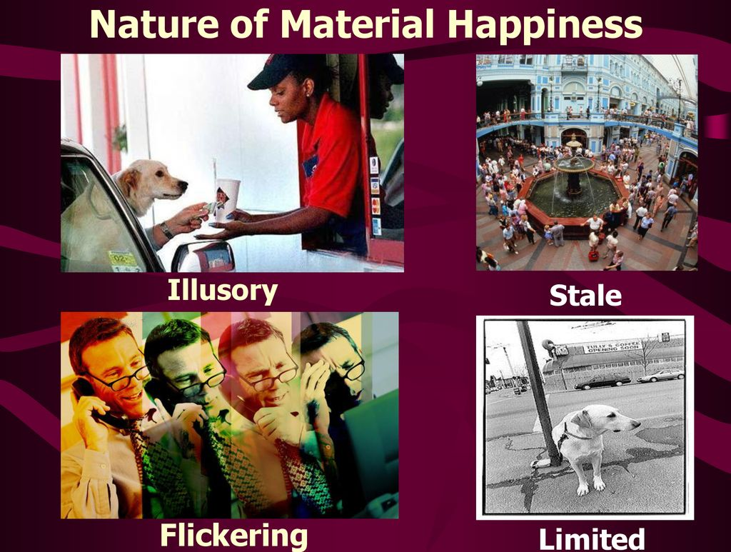 material happiness