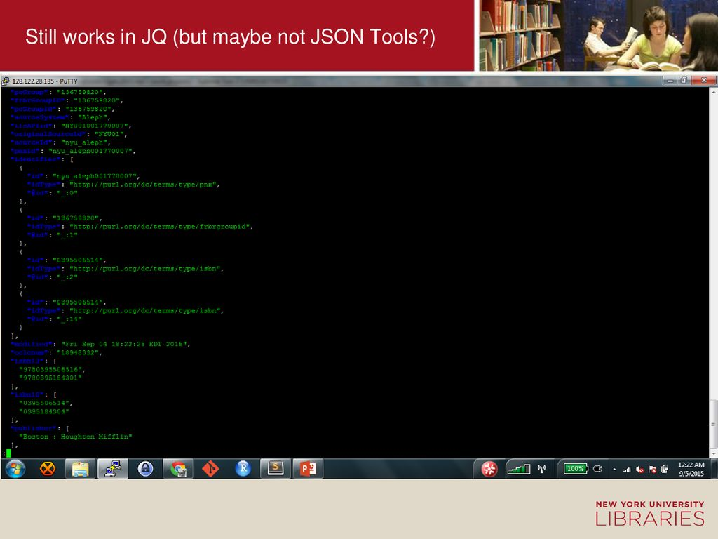 Consuming JSON-LD: Experiments with Primo's Latest Linked