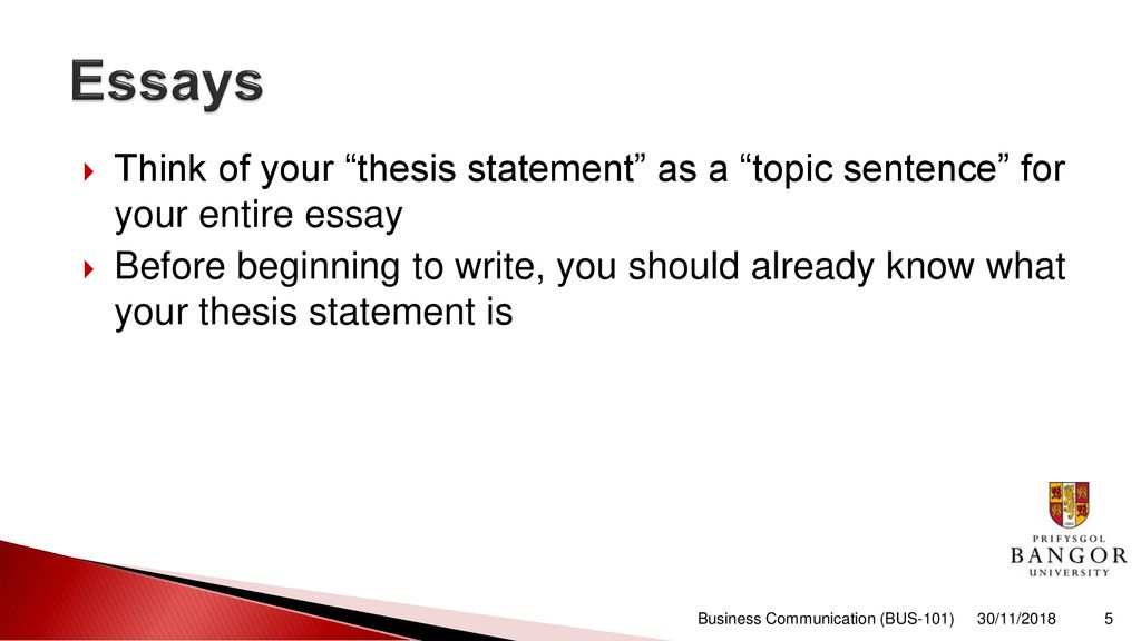 Science Essay Topic  Essay Examples High School also What Is The Thesis Of An Essay Business Communication  Ppt Download Essays On Different Topics In English