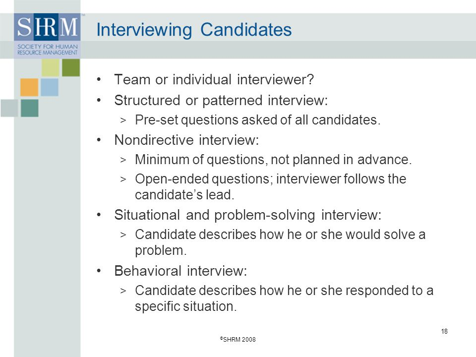 Recruitment and Selection: Hiring the Right Person - ppt download
