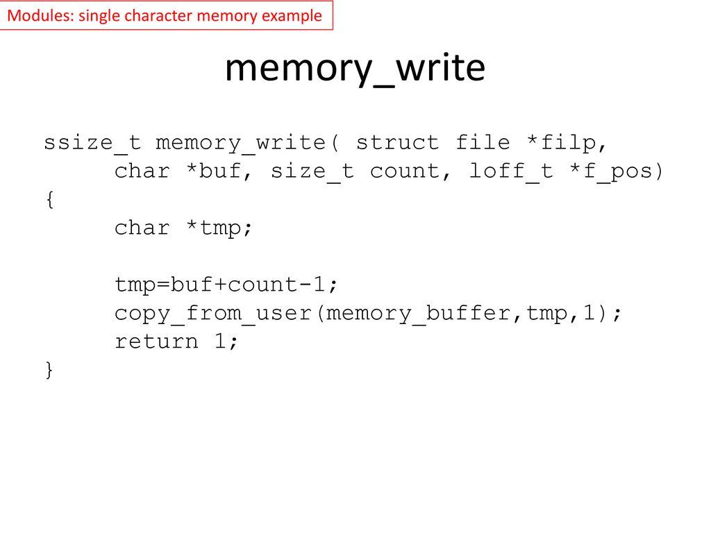 Fbset Example