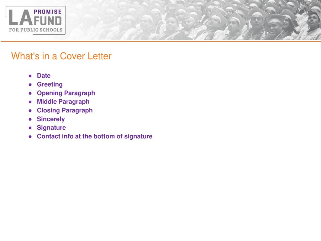 Cover Letter Opening Greeting from slideplayer.com