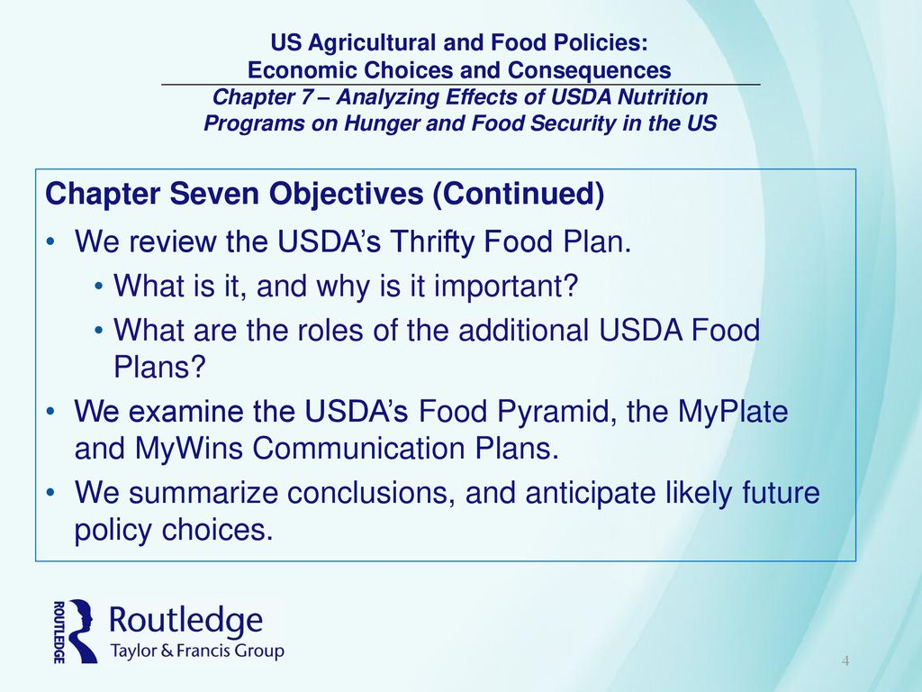 Us Agricultural And Food Policies Economic Choices And Consequences