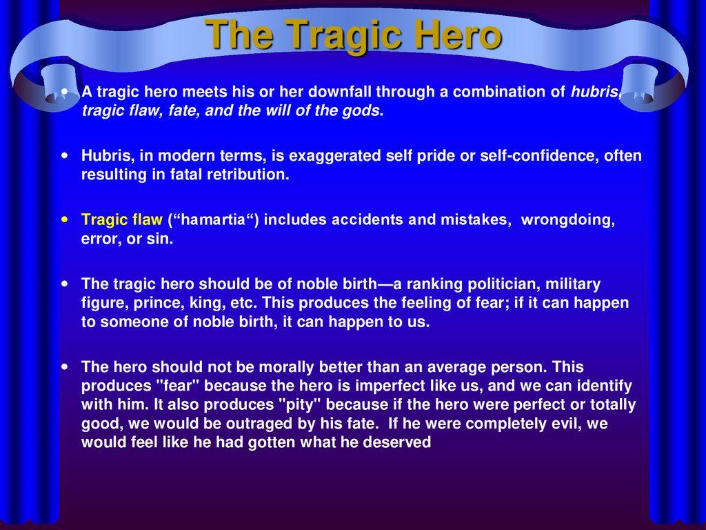 the tragic hero is generally