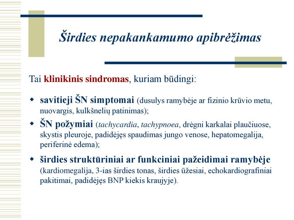 trijų simptomų šlapimo sindromas edema hipertenzija