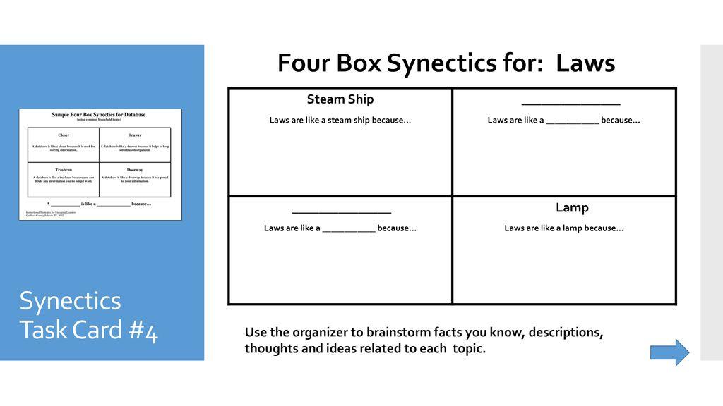 synectics examples
