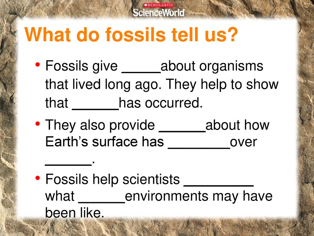 preserved animal tracks are called ______ fossils