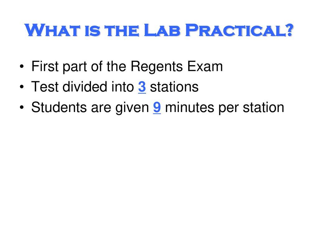 Lab Practical Information - ppt download