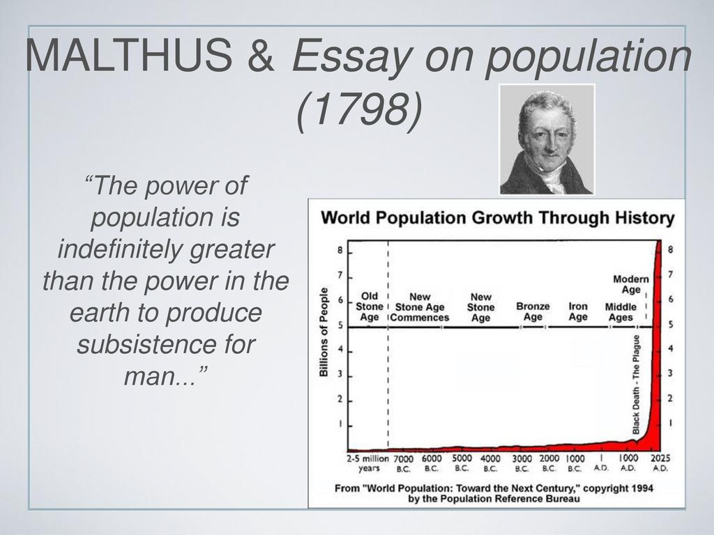J-Curve Why might the population be increasing so rapidly now as