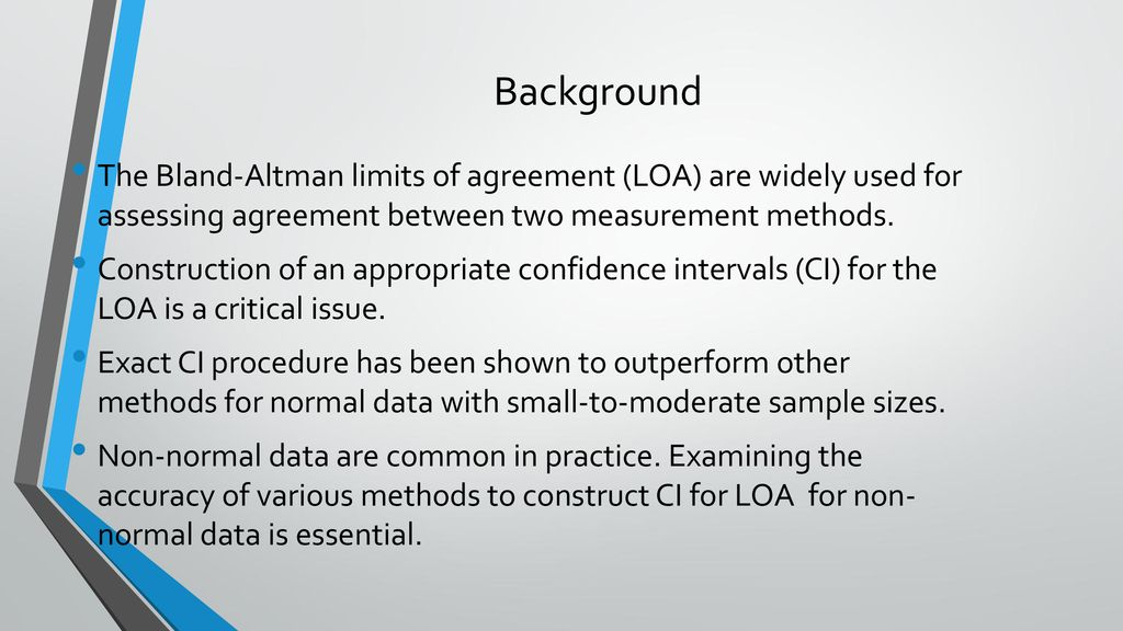 Evaluating The Performance Of Different Confidence Intervals For The