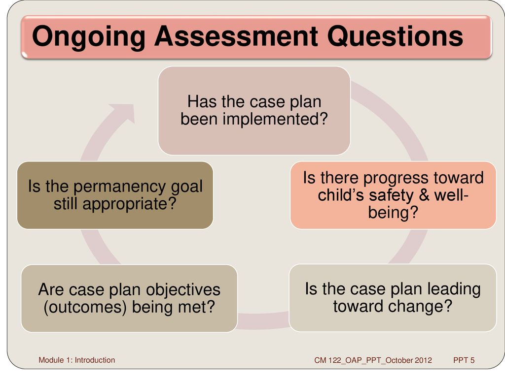 Ongoing Assessment and Permanency - ppt download