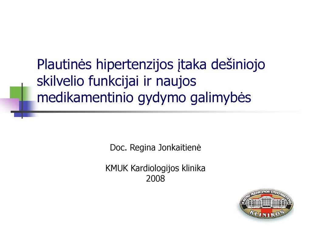 lėtinio nuovargio su hipertenzija gydymas