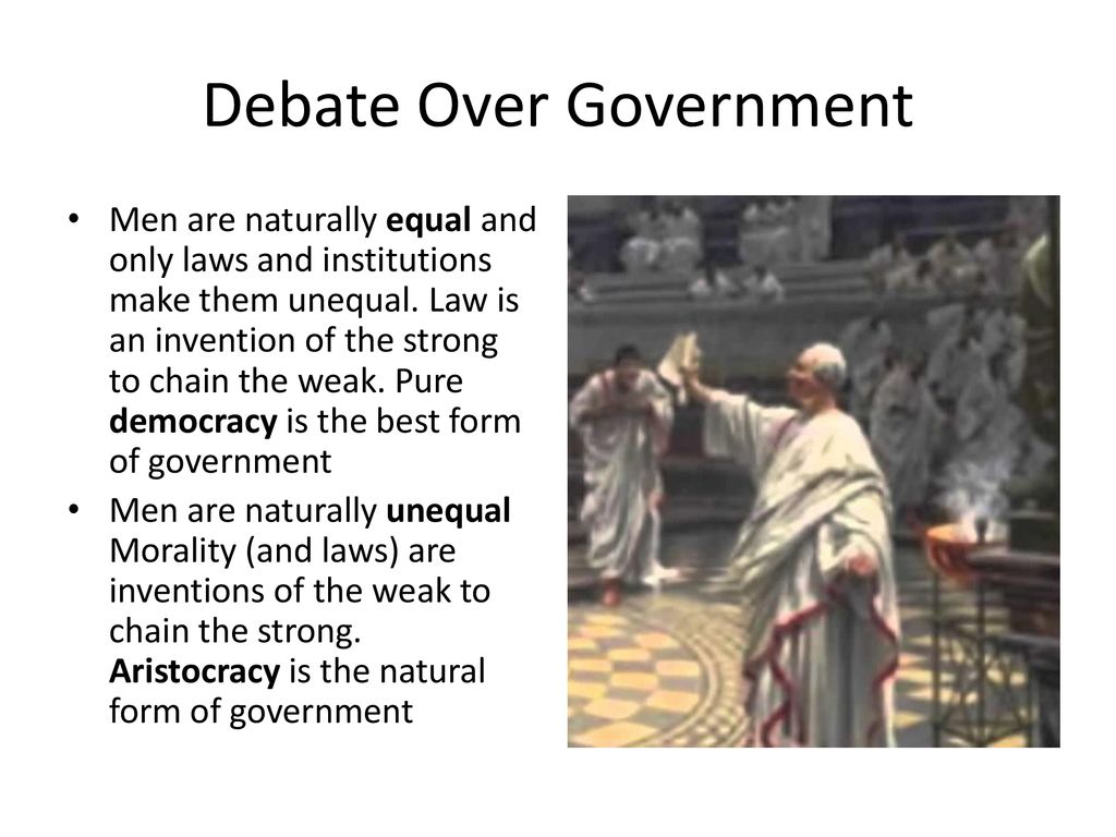 morality is best form of government