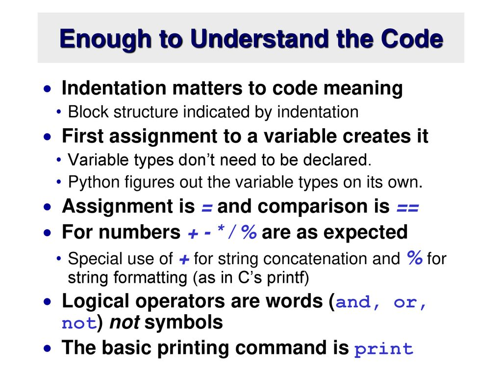 Introduction to Python - ppt download