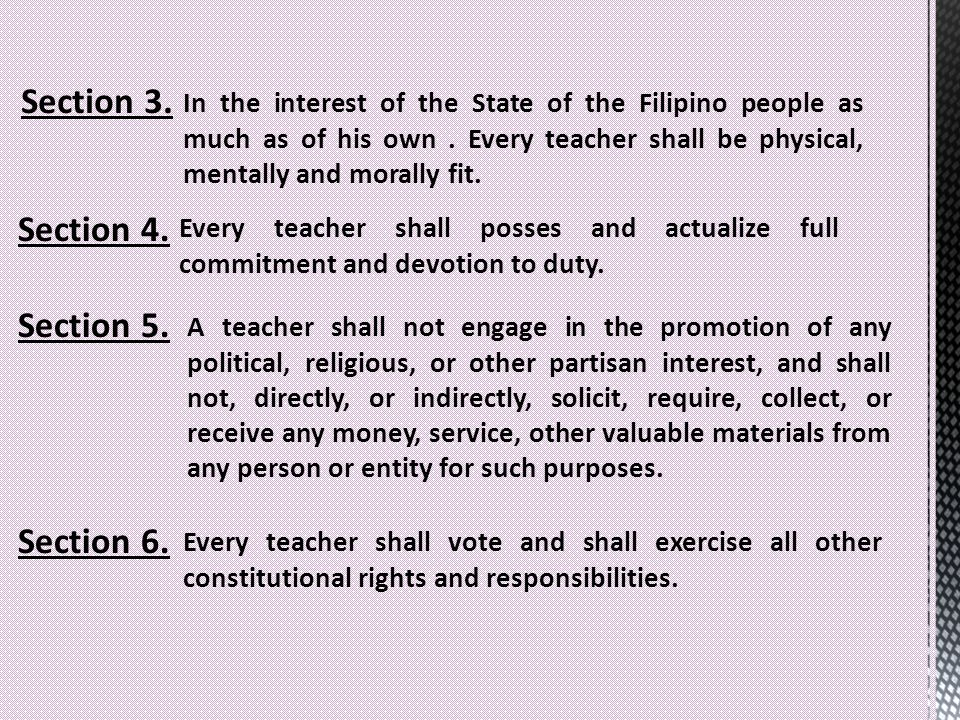 Article 3 Section 5 Philippine Constitution Explanation