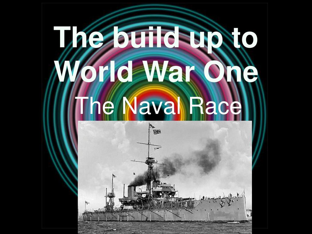 naval race world war 1