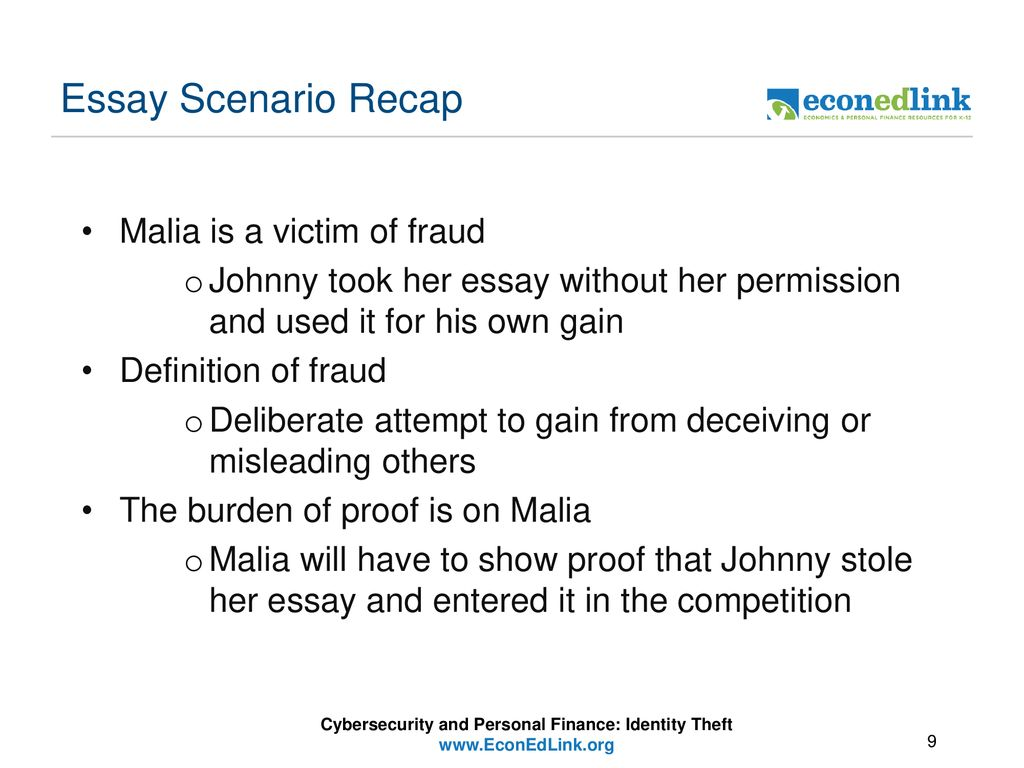 Cybersecurity And Personal Finance  Ppt Download Cybersecurity And Personal Finance Identity Theft