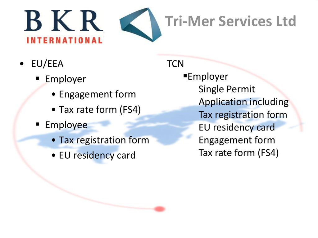 BKR Employment Tax Practice Group - ppt download
