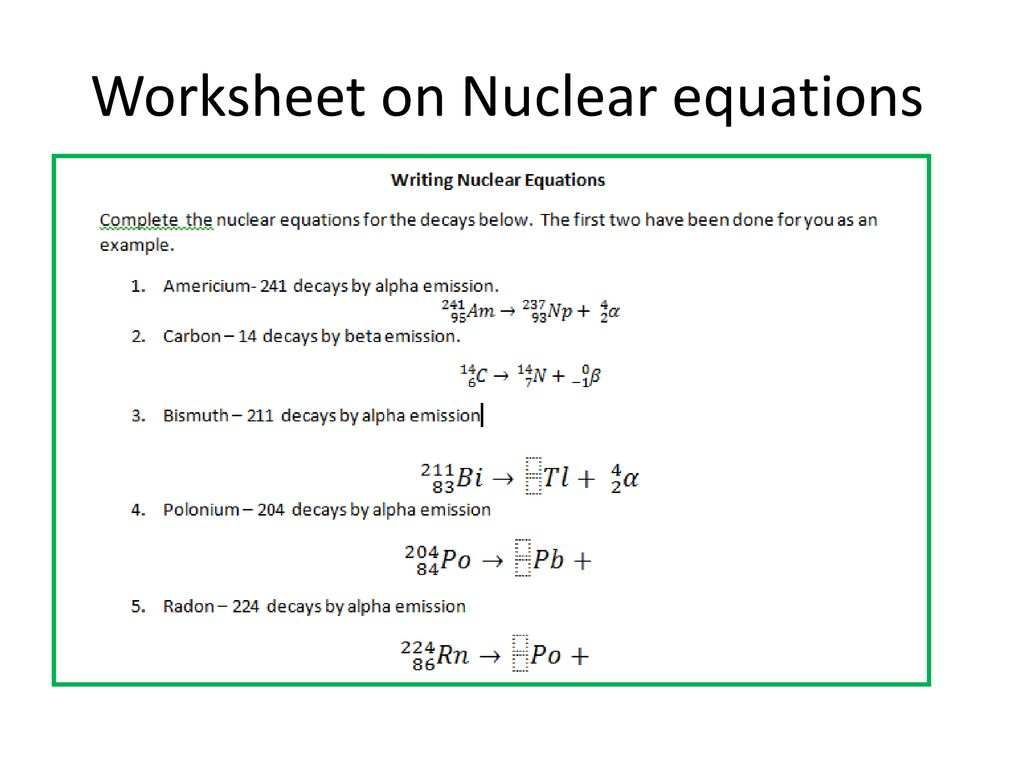 Nuclear Equations Ppt Download [ 768 x 1024 Pixel ]