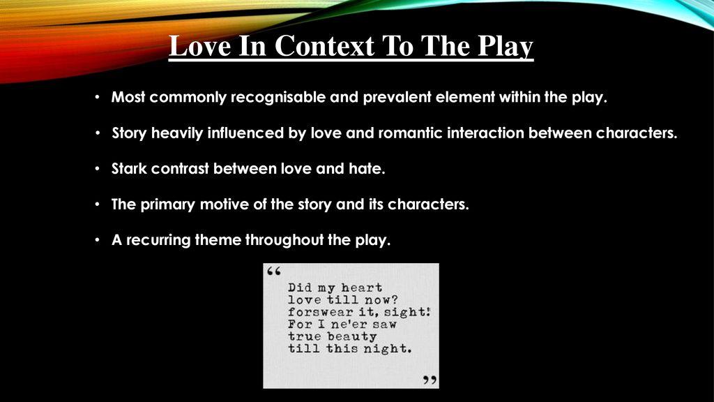 Romeo and Juliet English Oral Presentation By Seth & Luke