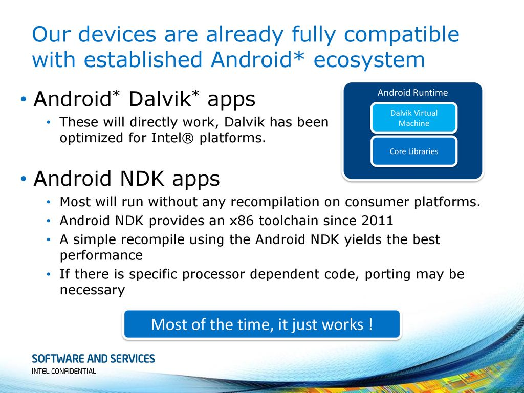 X86 Android Devices
