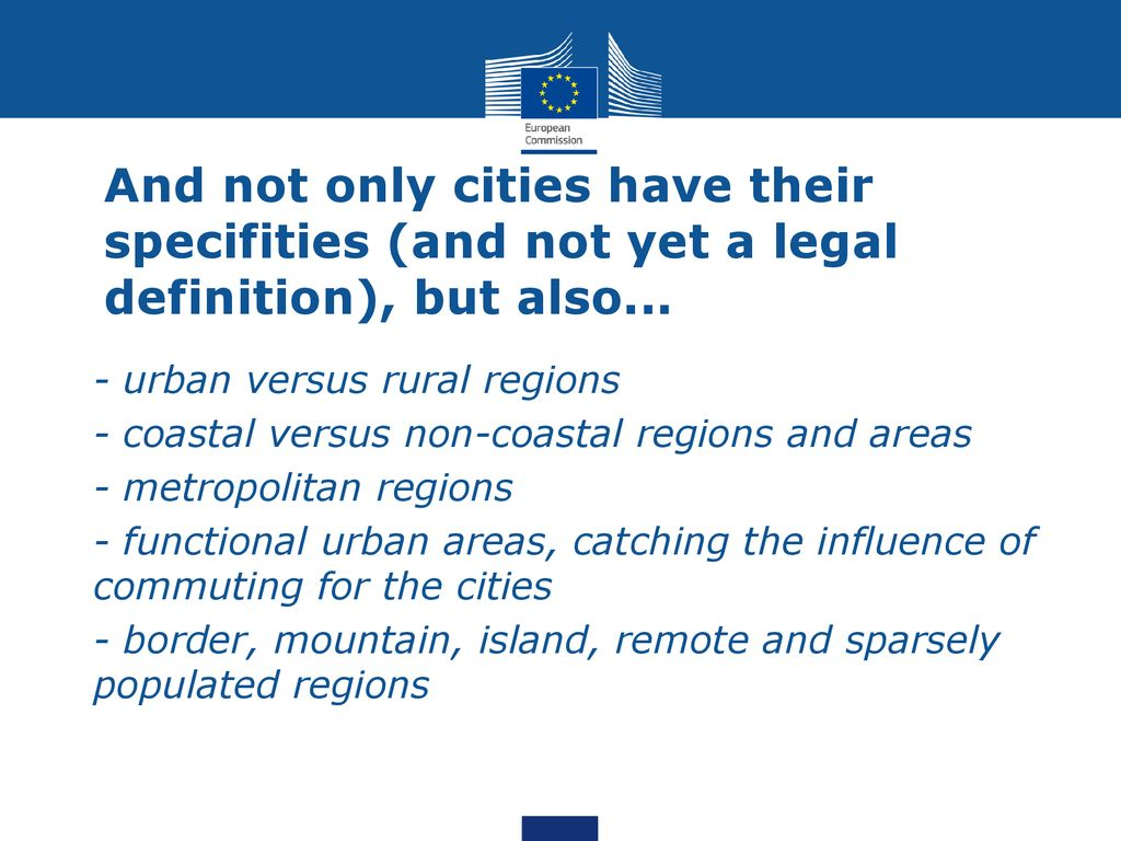What is the legal definition of urban area