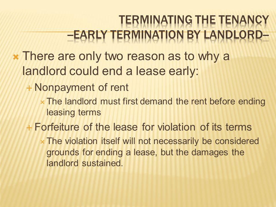 landlord tenant law community economic development clinic ppt