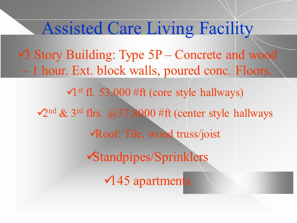 Assisted Care Living Facility
