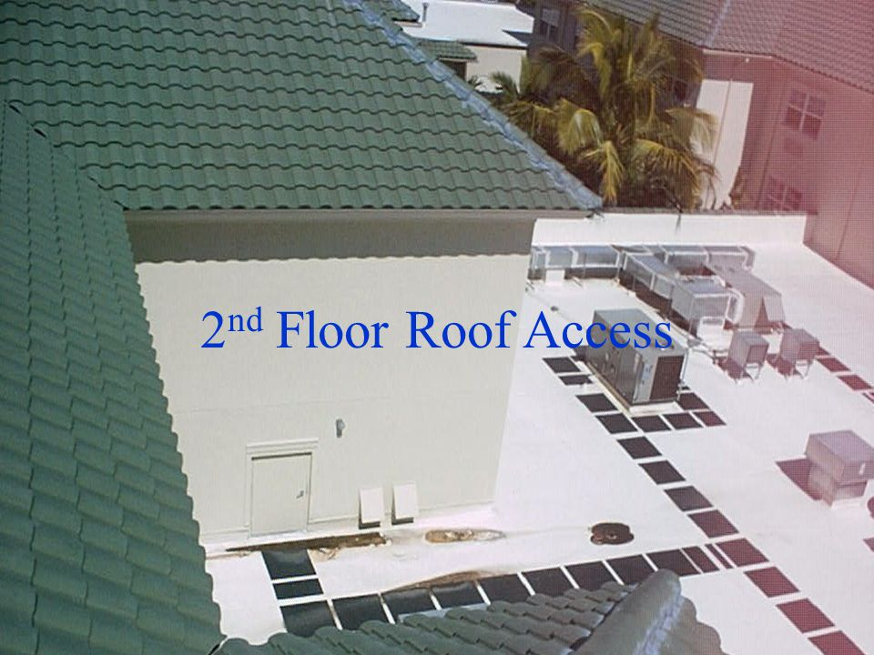 2nd Floor Roof Access