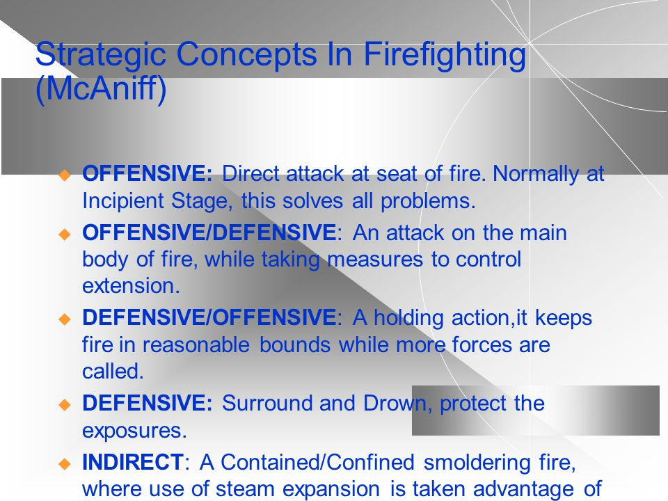 Strategic Concepts In Firefighting (McAniff)