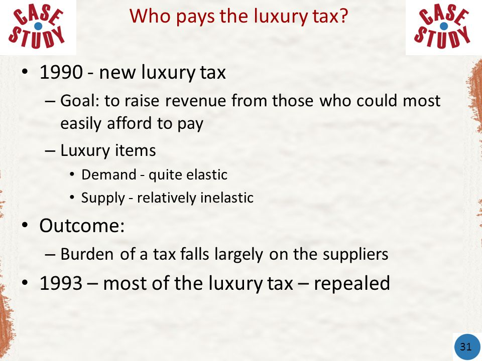 1993 – most of the luxury tax – repealed