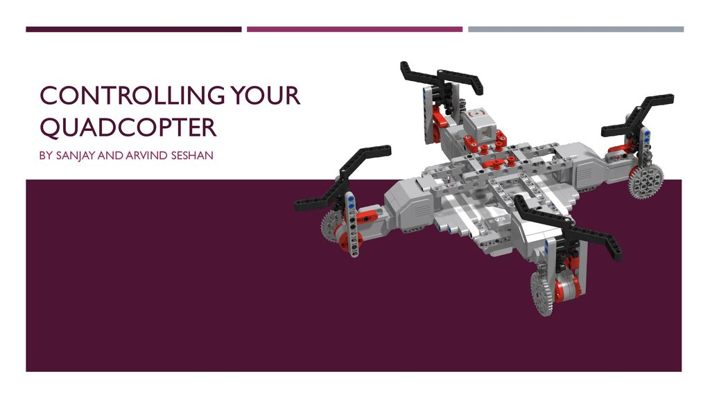 Controlling your quadcopter - ppt download