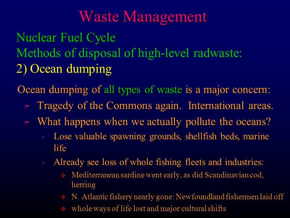 types of waste disposal methods pdf