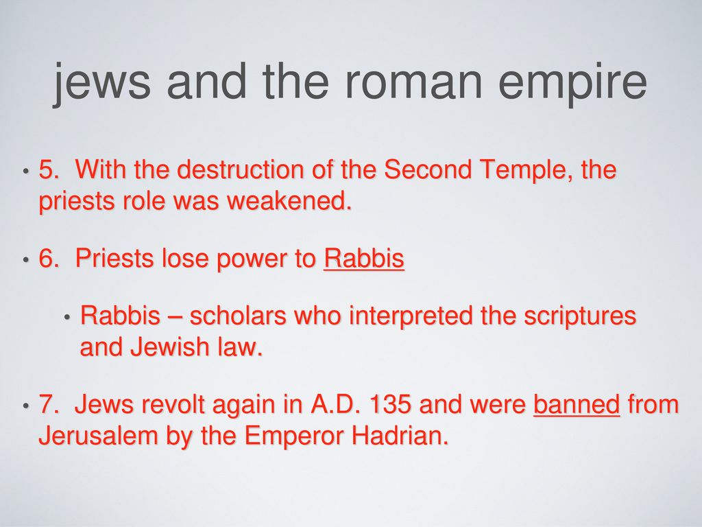 the rise of christianity - ppt download