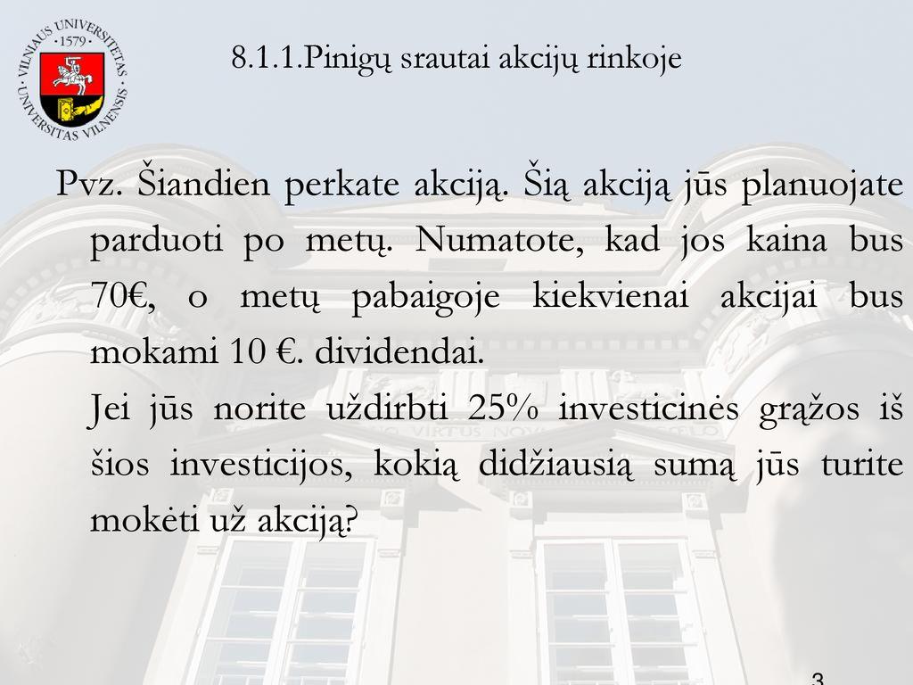 pavedimų srautų prekybos sistema)