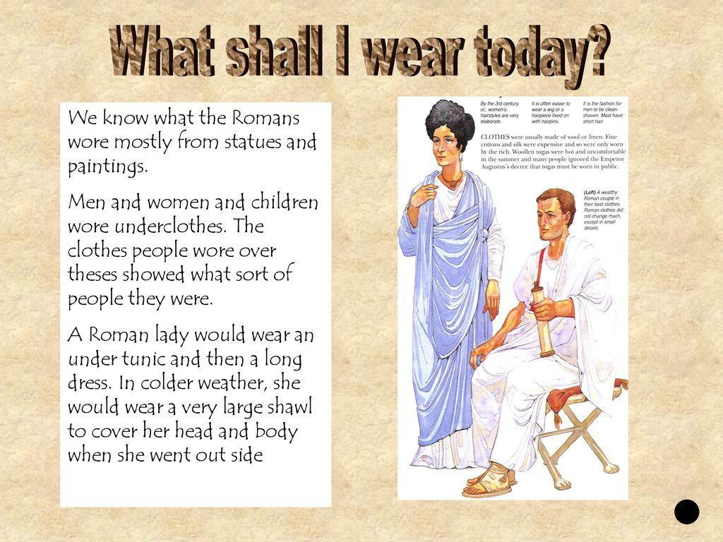 Shall what i wear today catalog photo