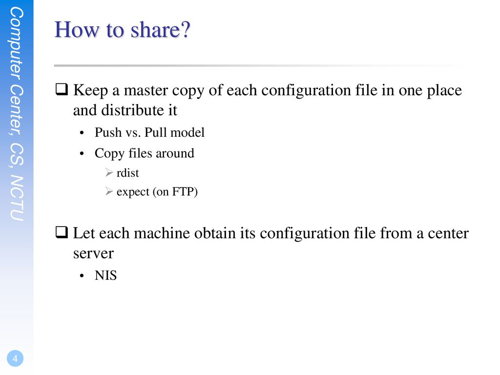 Sharing System Files  - ppt download