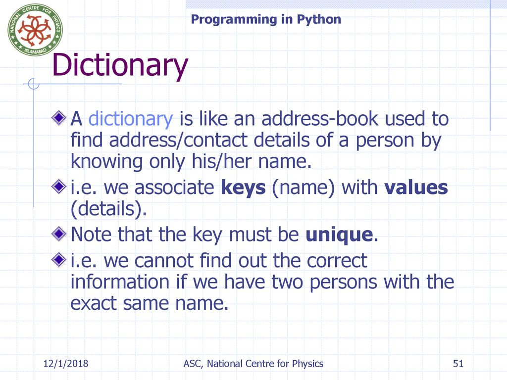 Programming in Python – Lecture#1 - ppt download
