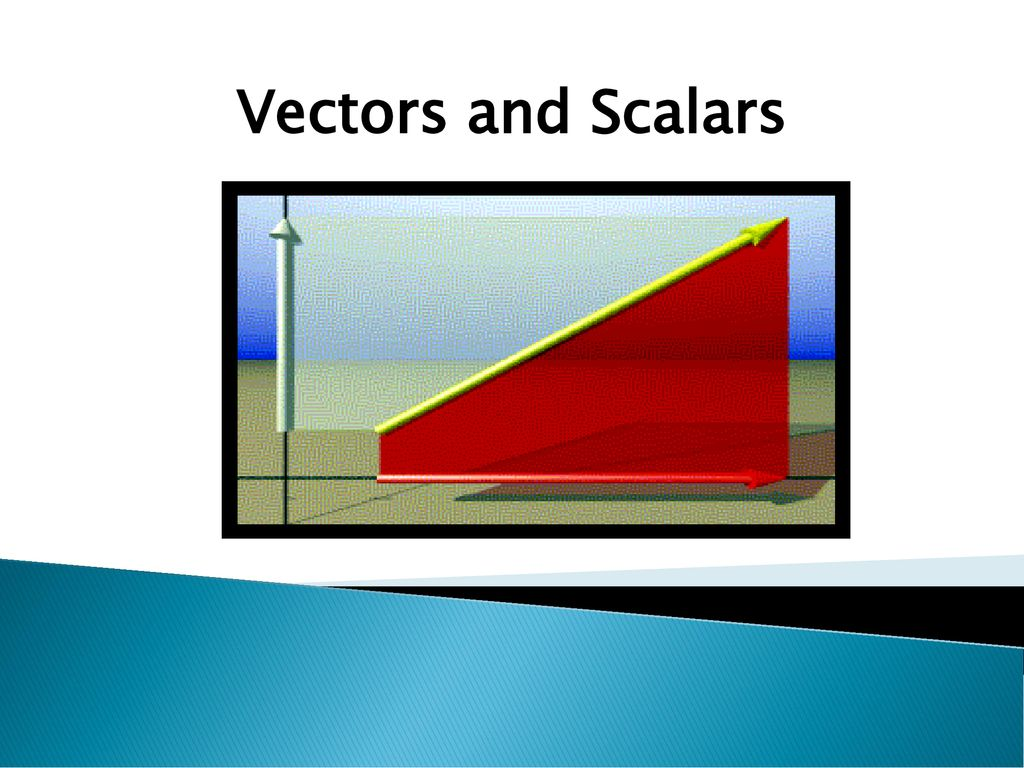 Vectors And Scalars Ppt Download