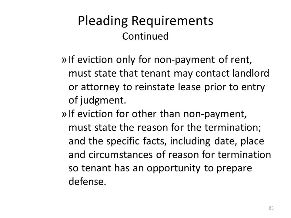 Arizona landlord and tenant law ppt download 85 pleading requirements continued thecheapjerseys Image collections