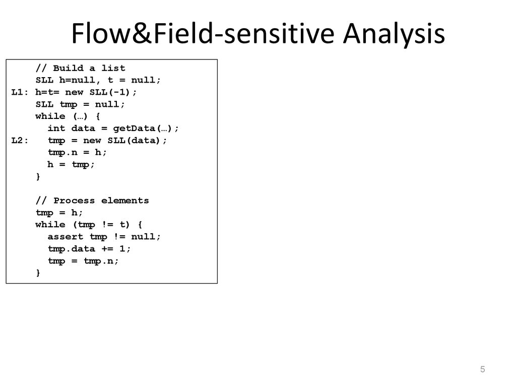 program analysis and verification ppt download